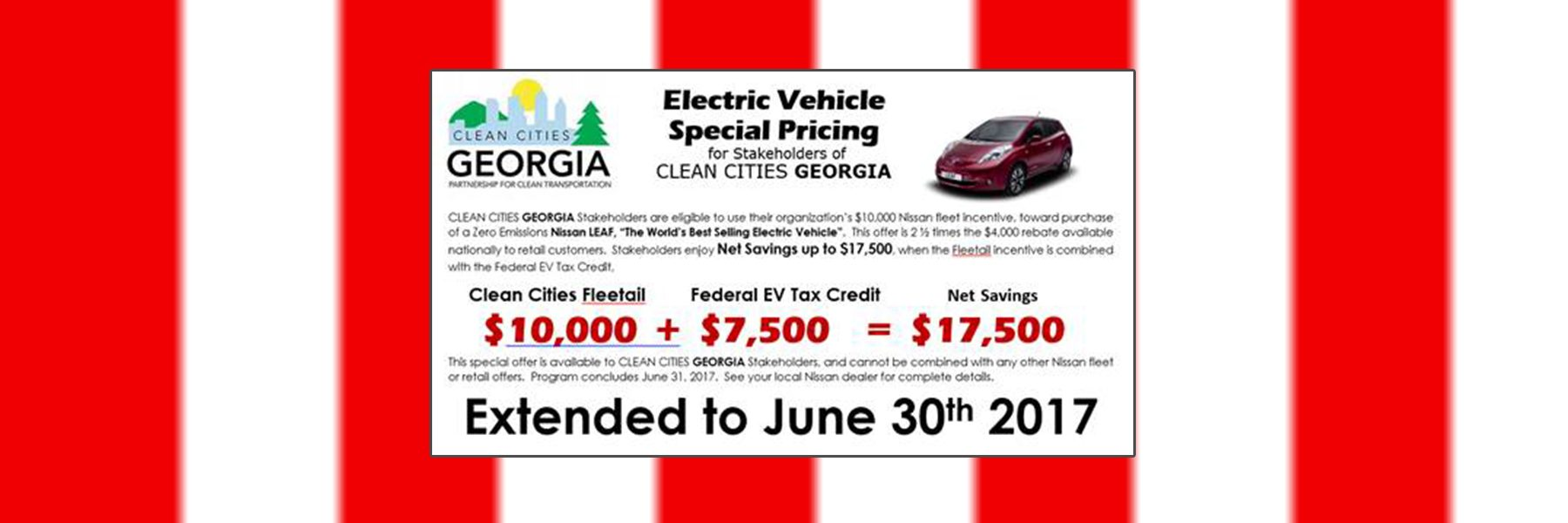 Electric Vehicle Special Pricing